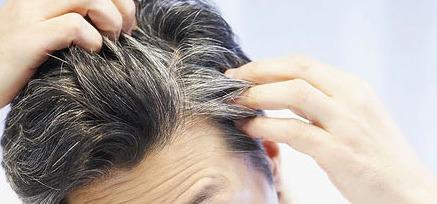 incanutimento capelli grigi