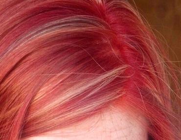 ricrescita capello colore