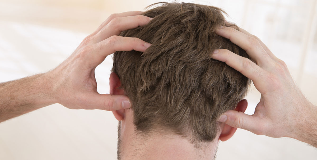 Dolore al cuoio capelluto o tricodinia