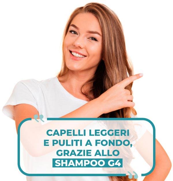 recensione Shampoo G4