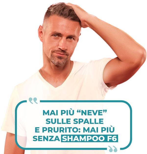 recensione Shampoo F6